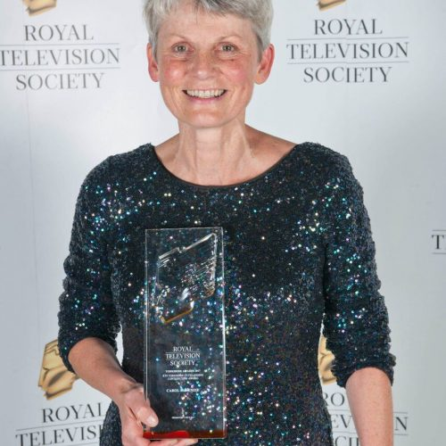 RTS reward Carol's outstanding contribution to TV in Yorkshire