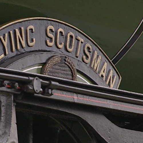 Flying Scotsman Comes Home / Steaming Back to Scarborough